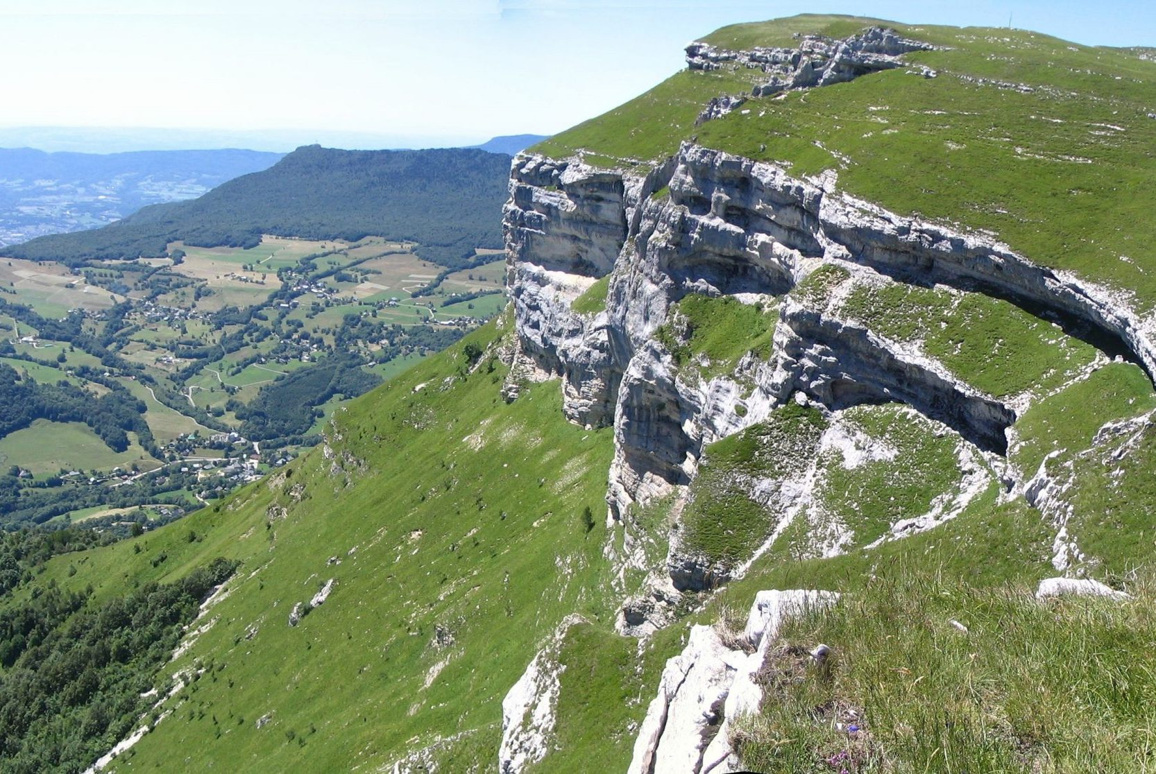 Margériaz karst path (Massif des Bauges)